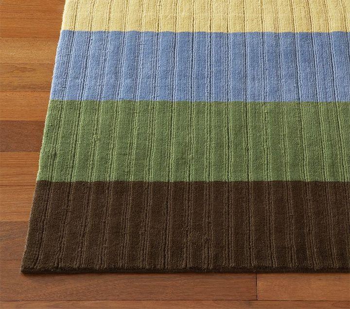 Wide Stripe Rug