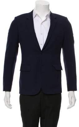 Saint Laurent Wool Two-Button Blazer