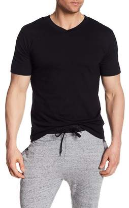 Bottoms Out Short Sleeve Modern V-Neck Tee