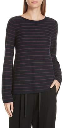 Vince Stripe Cashmere Sweater