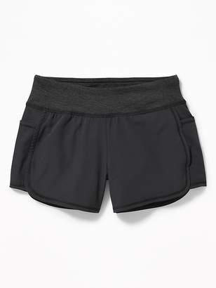 Old Navy Knit-Waist Run Shorts for Girls