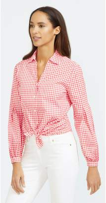 J.Mclaughlin Vickie Shirt in Gingham