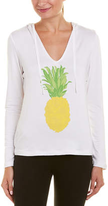 Trina Turk Recreation Travel Terry Pineapple Top