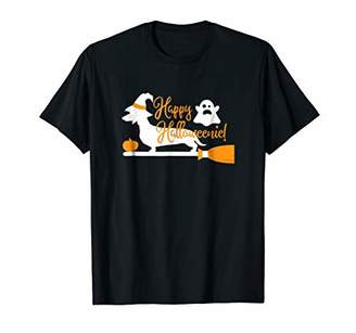 Happy Halloweenie Weiner Dog Halloween T-Shirt