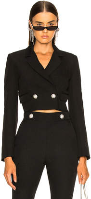 MSGM Cropped Cady Jacket