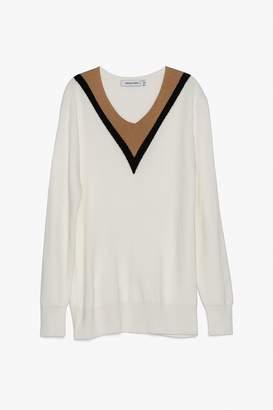 Genuine People Soft Wool Blend Sweater