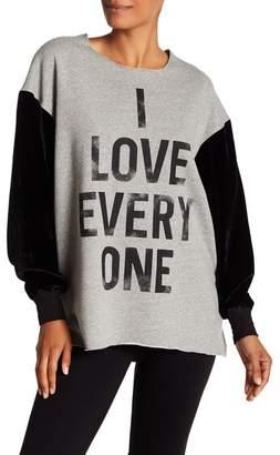 Cinq à Sept I Love Everyone Sweatshirt