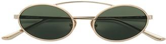 Self-Portrait round aviator sunglasses