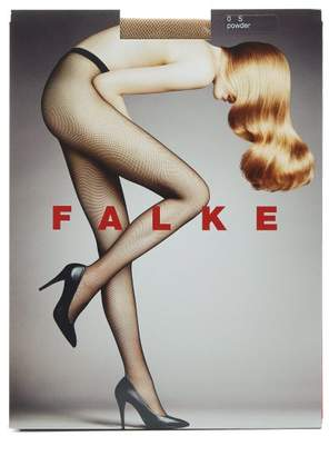Falke Fishnet Tights - Womens - Beige