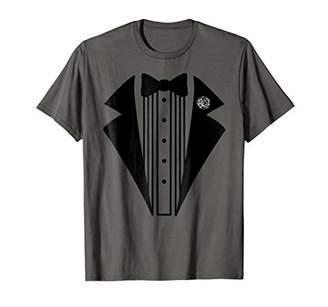 Tuxedo T-Shirt Funny Halloween Costume Tee Dad Men Boys
