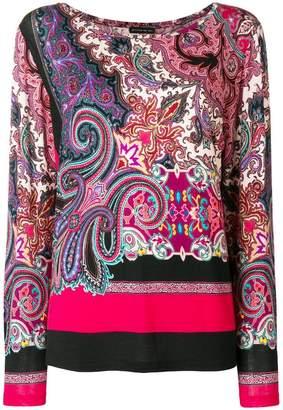 Etro Paisley print jumper