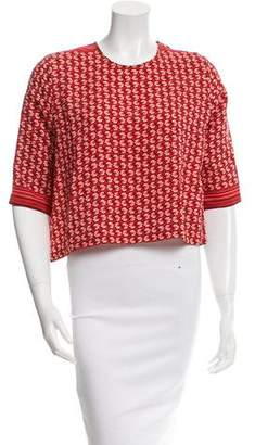 Roseanna Silk Printed Top w/ Tags