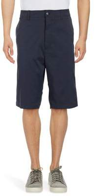 Callaway Big And Tall Big & Tall Opti-Stretch Subtle Grid Patterned Golf Shorts with Active Waistband