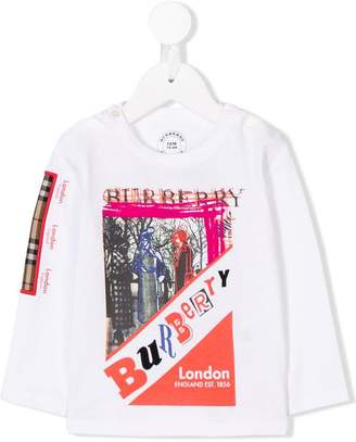Burberry London motif T-shirt