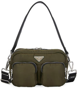 Prada Nylon Cargo Shoulder Bag
