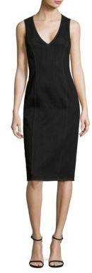 Polo Ralph Lauren Denim Sheath Dress $298 thestylecure.com