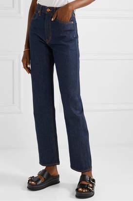 SLVRLAKE - London High-rise Straight-leg Jeans - Indigo