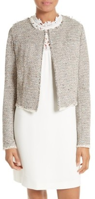 Women's Theory Ualana Tweed Jacket $395 thestylecure.com