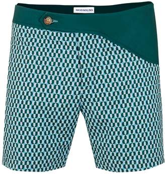 MONSEGNO - Rafael Bossa Dark Green Swimshort