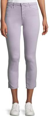 AG Jeans Prima Mid-Rise Cropped Skinny Jeans