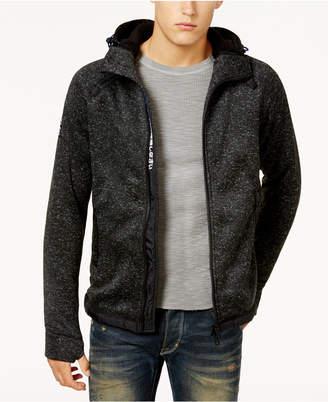 Superdry Men's Hooded Sweater-Jacket
