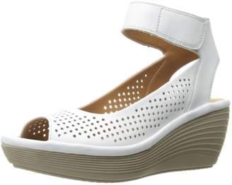 Clarks Women's Reedly Salene Wedge Sandal
