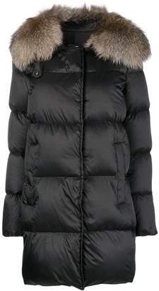 ... Farfetch · Moncler padded raincoat