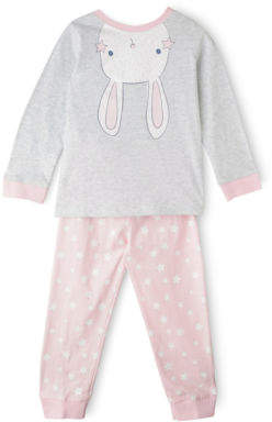 Sprout NEW Girls Pajama Set Grey Marle