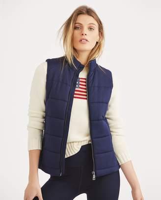 Ralph Lauren Quilted Stretch Jersey Vest