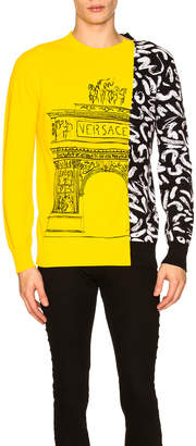 Versace Bi Color Sweatshirt