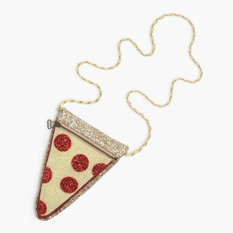 Girls' glitter pizza slice bag $39.50 thestylecure.com