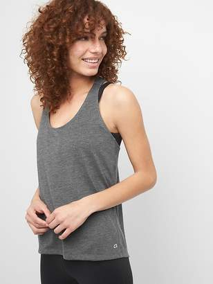 Gap GapFit Hi-Lo Gather-Back Tank Top