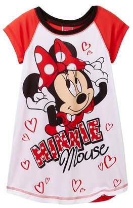 AME Minnie Mouse Nightgown (Little Girls & Big Girls)