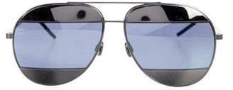 Christian Dior Tinted Aviator Sunglasses