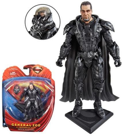 Mattel Superman Man of Steel Movie Masters Zod with Armor Figure