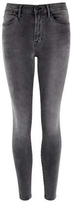 Frame Le High Skinny Grey Jeans
