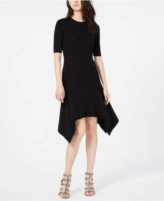 Vince Camuto Elbow-Sleeve Sweater Dress