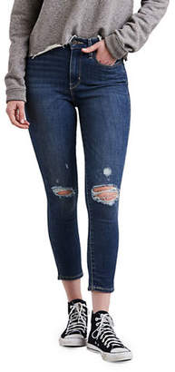 Levi's Lightning Ripped Skinny Ankle Jeans