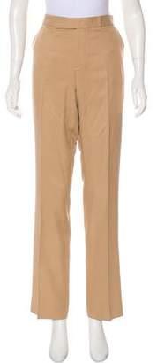 Ralph Lauren Purple Label Silk High-Rise Pants