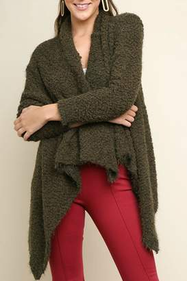 Umgee USA Cozy Teddy Cardigan