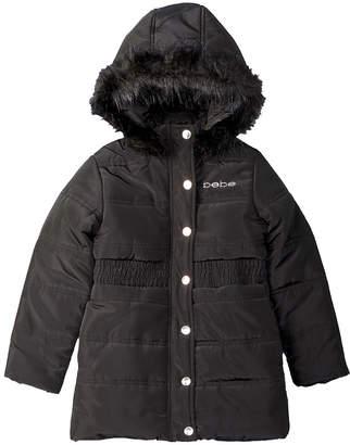 Bebe Long Puffer Coat