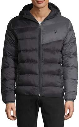 Spyder Colorblock Puffer Jacket