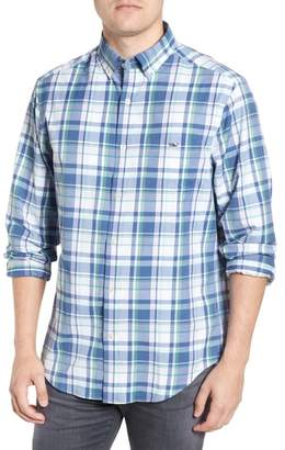 Vineyard Vines Otter Rock Regular Fit Plaid Sport Shirt