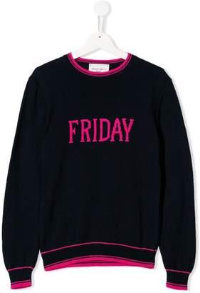 Alberta Ferretti Kids Friday sweater
