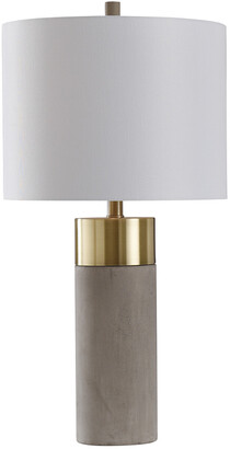 Stylecraft Style Craft 27.75In Concrete And Metal Table Lamp