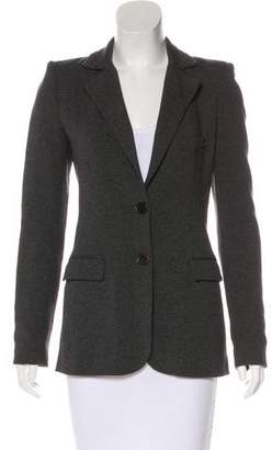 Torn By Ronny Kobo Jersey Notch-Lapel Blazer