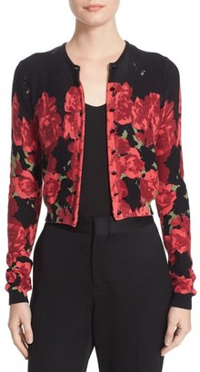 Women's Tracy Reese Print Cardigan $228 thestylecure.com