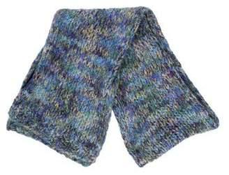 Dries Van Noten Mohair-Blend Knit Scarf