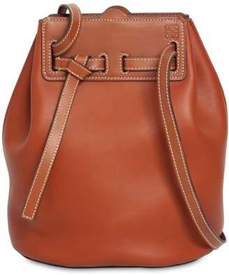 Loewe Lazo Bucket Leather Shoulder Bag