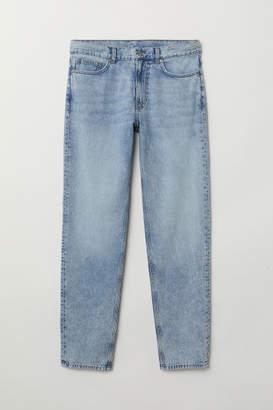 H&M Dad Jeans Trashed - Blue